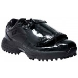 3N2 Reaction Pro Patent Leather Low Umpire Plate Shoes