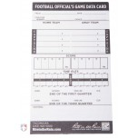 All-Weather Football Referee Information Cards