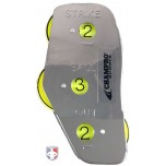 Champro 3-Dial Optic Yellow Steel Umpire Indicator - 3/2/2 Count
