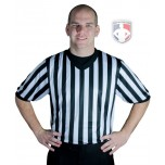 "Smitty ""Elite"" Performance Interlock V-Neck Referee Shirt"