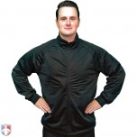 Smitty Track Style Basketball / Wrestling Referee Jacket - Black