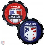 Baseball Umpire Flip Coin