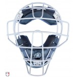 Force3 V2 Silver Defender Umpire Mask with Black