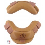 Force3 Defender v2 Umpire Mask Replacement Pads - Tan