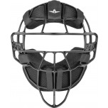 All-Star Black Magnesium Umpire Mask with Black LUC