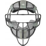 All-Star Black Magnesium Umpire Mask with Grey LUC