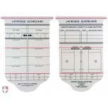 NCAA / NFHS Lacrosse Referee Template / Scorecard