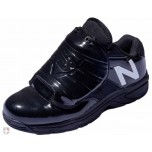 New Balance V3 Black & White Low-Cut Umpire Plate Shoes