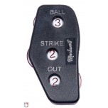 Markwort Oversized Balls First 3-Dial Plastic Umpire Indicator - 3/2/2 Count
