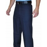 Smitty Navy Flat Front Volleyball Referee / Umpire Pants with Western-Cut Pockets