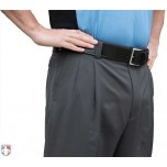 Smitty Performance Poly Spandex Charcoal Grey Umpire Combo Pants with Expander Waistband