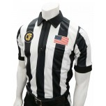 "California (CIF) 2 1/4"" Stripe Short Sleeve Football Referee Shirt"