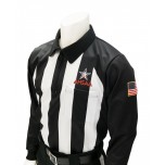 "Alabama (AHSAA) 2 1/4"" Stripe Long Sleeve Football Referee Shirt"
