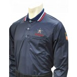 Alabama (AHSAA) Long Sleeve Umpire Shirt - Navy