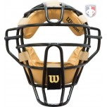 Wilson Dyna-Lite Steel Umpire Mask with Doeskin