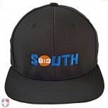 BIG SOUTH Pulse Performance FlexFit Combo Plate / Base Umpire Cap - 4 Stitch