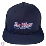 BIG WEST Pulse Performance Flexfit Combo Plate / Base Umpire Cap - 4 Stitch