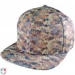 Richardson Digital Camo Pulse Performance FlexFit Combo Plate / Base Umpire Cap - 4 Stitch