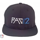 PAC12 Pulse Performance FlexFit Combo Plate / Base Umpire Cap - 4 Stitch