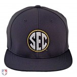 SEC Pulse Performance FlexFit Combo Plate / Base Umpire Cap - 4 Stitch