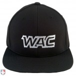 WAC Pulse Performance Flexfit Combo Plate / Base Umpire Cap - 4 Stitch