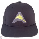 ASUN Pulse Performance FlexFit Base Umpire Cap - 6 Stitch