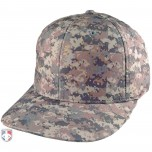 Richardson Digital Camo Pulse Performance FlexFit Base Umpire Cap - 6 Stitch