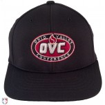 OVC Pulse Performance FlexFit Base Umpire Cap - 6 Stitch