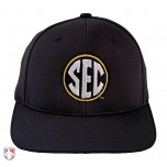 SEC Pulse Performance FlexFit Base Umpire Cap - 6-Stitch