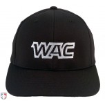 WAC Pulse Performance Flexfit Umpire Base Cap - 6 Stitch