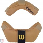 Wilson Doeskin Umpire Mask Replacement Pads - Tan