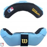 Wilson MLB Umpire Mask Replacement Pads - Sky Blue and Black