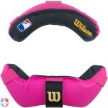 Wilson MLB Umpire Mask Replacement Pads - Pink and Black