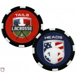 Lacrosse Referee Flip Coin