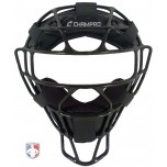 Champro Black Rampage Magnesium Umpire Mask with Dri-Gear