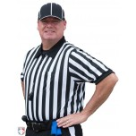 "Smitty 1"" Stripe Body Flex Short Sleeve Referee Shirt"