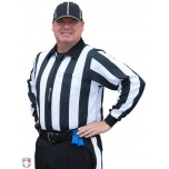 "Smitty 2 1/4"" Stripe ""Hybrid"" Cold Weather Football Referee Shirt"