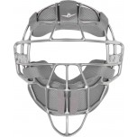 All-Star Silver Magnesium Umpire Mask with Grey LUC