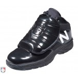 New Balance V3 Black & White Mid-Cut Umpire Plate Shoes