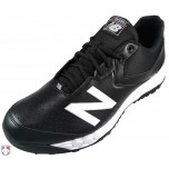 New Balance V3 Black & White Low-Cut Umpire Base Shoes