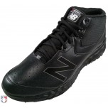 New Balance V3 All-Black Mid-Cut Umpire Base Shoes