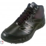 New Balance V3 MLB All-Black Mid-Cut Umpire Base Shoes