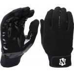Neumann All-Black Officials Gloves with Synthetic Palms