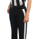 Smitty Warm Weather Women's Fit Black Football Referee Pants