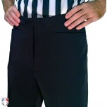 Smitty NBA Style 4-Way-Stretch Premium Referee Pants - Flat Front