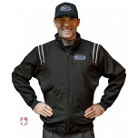 Kentucky (KHSAA) Smitty Fleece Lined Umpire Jacket - Black and White