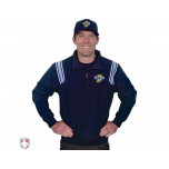 IHSAA Embroidered Umpire Jacket - Navy and Powder Blue