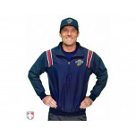 IHSAA Embroidered Umpire Jacket - Navy and Red