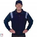 Smitty Traditional Half-Zip Umpire Jacket - Navy and Powder Blue