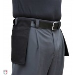Smitty Performance Poly Spandex Charcoal Grey Umpire Plate Pants with Expander Waistband